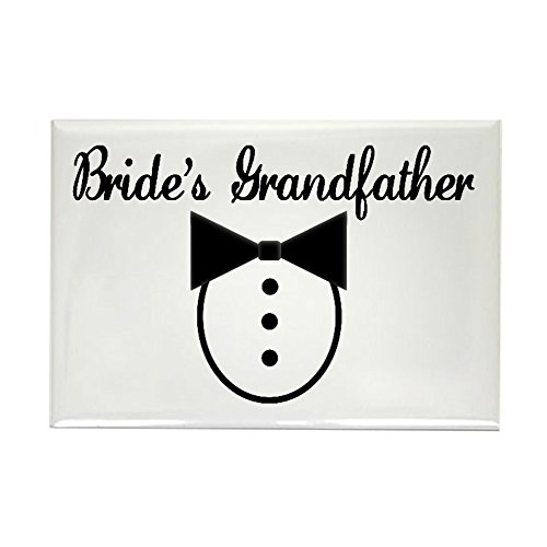 CafePress Grandfather of the Bride Rectangle Magnet Rectangle Magnet, 2