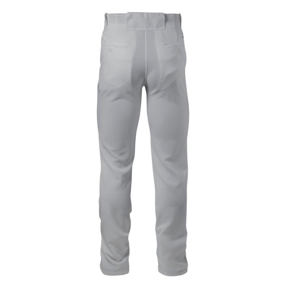 Mizuno Adult Men's Pro Solid Baseball Pant, Grey, Medium by Mizuno