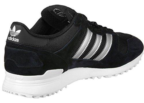 Adidas Herren Zx 700 Sneaker Schwarz (nucleo Nero / Argento Opaco / Nero Utility)