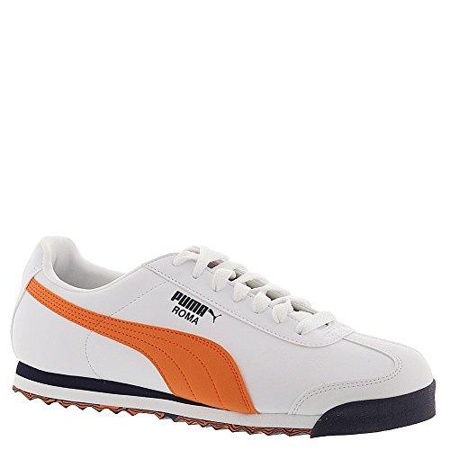 Puma Roma L Slash Sneakers Moda Bianco / Vermiglio Arancio / Peacoat