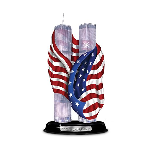 We Will Never Forget Sculpture: Honoring The 10th Anniversary Of September 11th by Hawthorne Village (10th Anniversary Figurine)