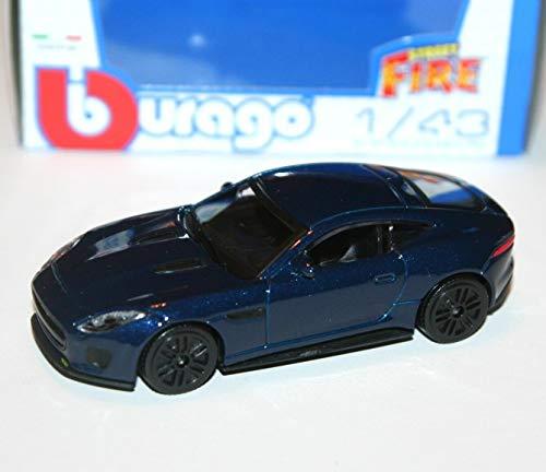 Jaguar F Type R silber Maßstab 1:43 von bburago Street Fire