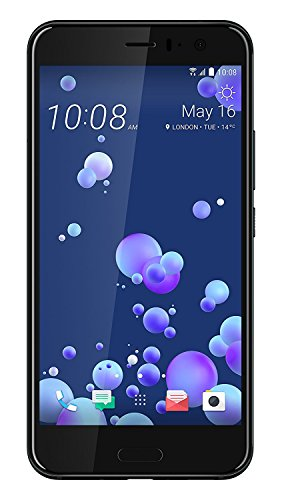 HTC U11 64GB Single-SIM Factory Unlocked Android OS Smartphone (Brilliant Black) - International Version