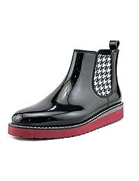 Cougar Women's Kensington Chelsea Boot in Black Houndstooth