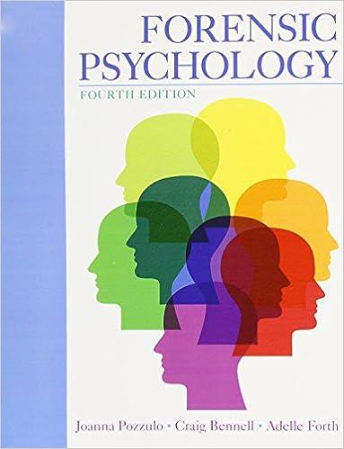 4th Edition Loose Leaf Version Forensic Psychology
