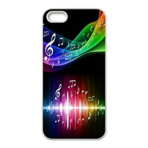 Chaap And High Quality Phone Case For Apple Iphone 5 5S Cases -Love Music Pattern-LiShuangD Store Case 8