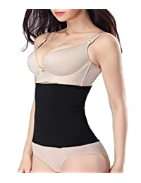 Nebility Women Body Shaper Waist Shapewear Belly Band Tummy Control Postpartum Recovery Cincher