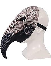 LYTLM Steampunk, snavelmasker, pest arts masker, halloween masker, unisex, cosplay rekwisieten, artsen hoofd masker steampunk kostuum accessoires voor volwassen halloween party fasching carnaval