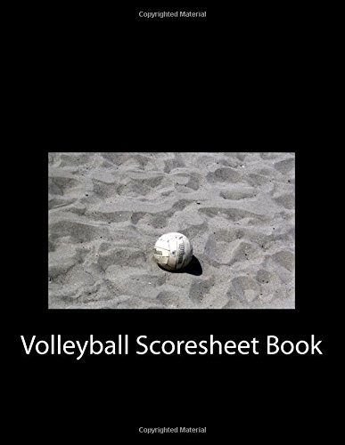 Read Online Volleyball Scoresheet Book: 100 Pages (50 sheets) pdf epub