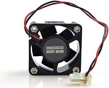 E-Meoly Meglev KDB240420MB DC Ventilador sin escobillas 24 V 50 MA ...