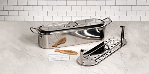 RSVP Endurance Stainless Steel Fish Poacher, 18-inch by RSVP International (Image #2)
