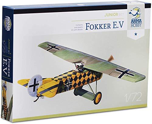 Arma Hobby 1/72 Scale Fokker E.V Junior Set - Airplane Series Plastic Model Kit #70013 2