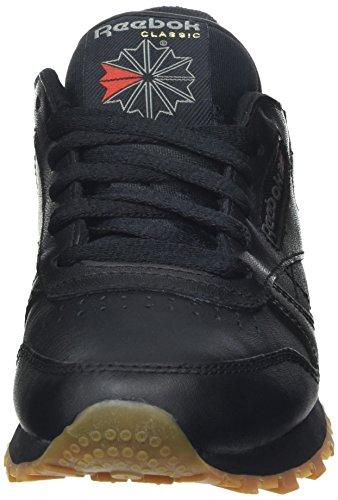 de Black Gum Reebok Negro Int Running Cl Int Black Gum Niños LTHR Zapatillas WrRPp4xWn7