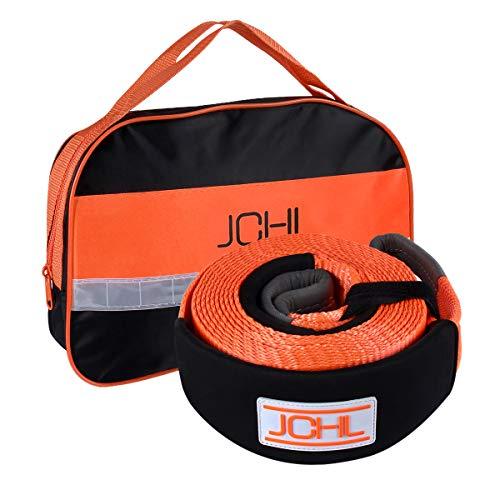 JCHL Recovery Tow Strap Heavy Duty Nylon Recovery Strap 3