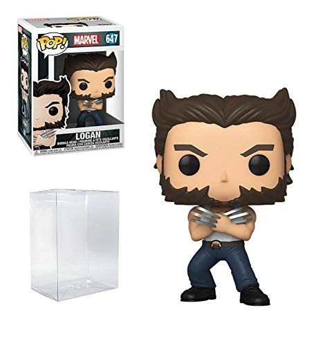 Logan X-Men 20th Anniversary #647 Marvel Pop Vinyl Figure (Includes Compatible EcoTek Pop Box Protector Case)