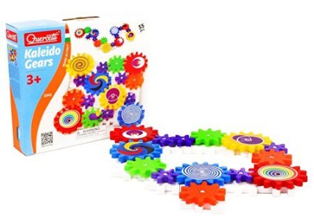 Quercetti Georello Kaleido Gears, 55 pieces