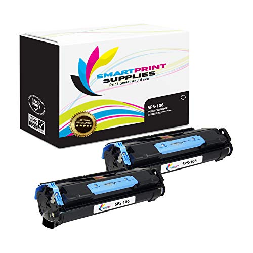 Smart Print Supplies Compatible 106 0264B001AA Black Toner Cartridge Replacement for Canon ImageClass MF6500 MF6530 MF6531 MF6580, LaserBase MF6540PL MF6550PL Printers (5,000 Pages) - 2 Pack