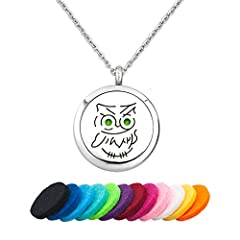 Instructions For Using Aromatherapy Essential Oil Diffuser Necklace: Open aromatherapy essential oil diffuser necklace's locket Choose a refill pad and add 2-3 drops of your favorite essential oil Placed refill pad in locket and close it You ...