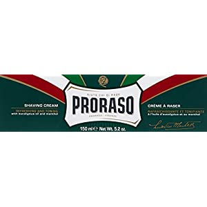Proraso Shaving Cream, Refreshing and Toning, 5.2 oz