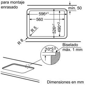 Balay 3ETG663HN - Placa de gas natural, integrable, cristal ...
