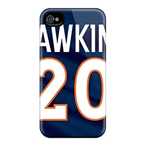 Protective Hard Phone Case For Iphone 6 With Custom Lifelike Denver Broncos Pattern PhilHolmes