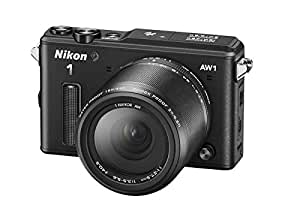 "Nikon 1 AW1 - Cámara Evil de 14.2 MP (Pantalla 3"", estabilizador, vídeo Full HD, GPS), Color Negro - Kit con Objetivo 1 Nikkor 11-27.5mm"
