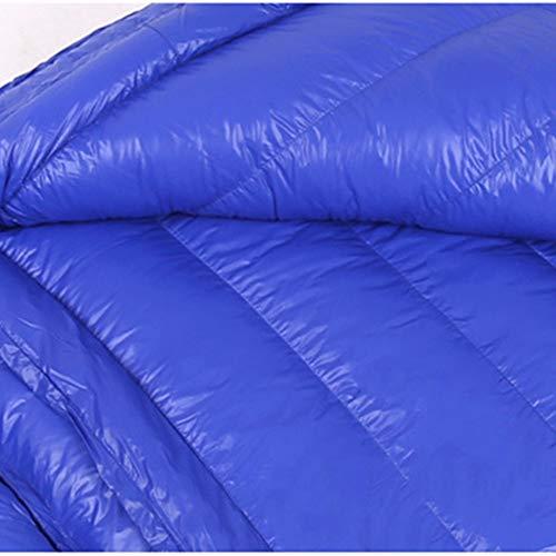 Saco de dormir ultraligero de pluma de ganso, para acampar ...