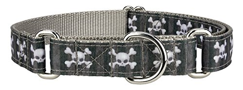Country Brook Design Nytemare Ribbon Martingale Dog Collar - Medium