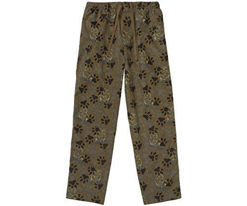 Big Dog Lounge Pants (Big Dogs Bad Dog Camo Flannel Lounge Pant 2X Olive)