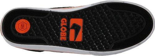 GLOBE Skateboard SHOES HEATHEN Black/Orange Thrasher
