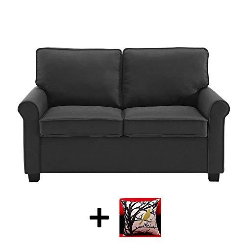Mainstay Sofa Sleeper with Memory Foam Mattress | No-Tool Easy Assembly