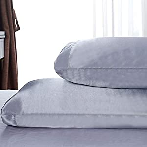Sweepstakes: Satin Pillowcases Two Pack Standard - Satin...