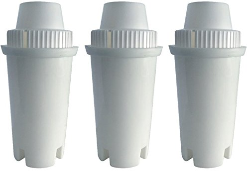 GoldTone Brand Water Filter replaces Brita Water Filter Pitcher Classic Replacement Filters For Brita and Mavea, 3 Count by GoldTone