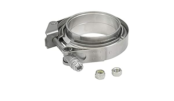 "Verocious Motorsports Replacement V-Band Clamp 3/"" 304 Stainless Steel"