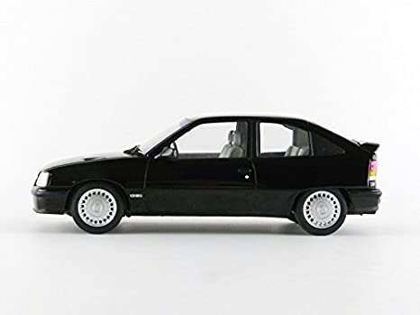 Amazon.com: Opel 1987 Kadett GSI Black 1/18 by Norev 183612 ...