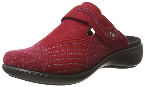 306 ROMIKA Mules Chaussons Femme Rouge 400 Ibiza Rot Home qrC7E6nrOw