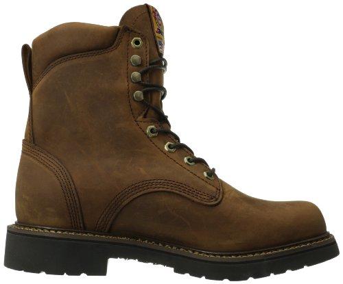 Boots Gaucho Aged Waterproof Original Justin Jmax Waterproof Bark Work Work Boot Mens Rugged PW6OEq