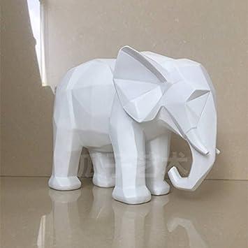 Simple moderne sculpture création dobjets de décoration intérieure décoration origami géométrique des animaux en