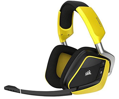 Corsair VOID PRO RGB Wireless SE Premium Gaming Headset (Yellow)Japan Domestic genuine products