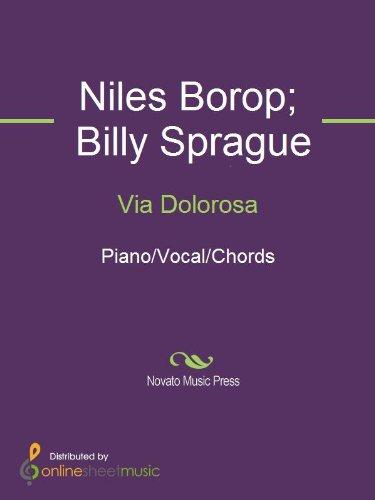 Via Dolorosa Kindle Edition By Billy Sprague Niles Borop The