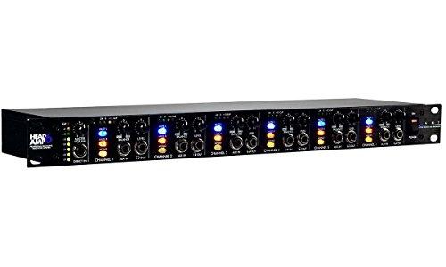 ART HeadAmp6 - 6-Channel Headphone Amplifier by ART