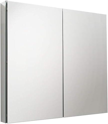 Fresca 40 inch Wide x 36 inch Tall Bathroom Medicine Cabinet w Mirrors
