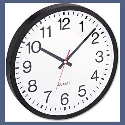 Universal UNV10431 Round Wall Clock 11-1/2