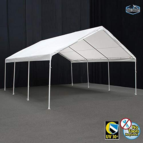 King Canopy 18' x 20' Hercules Canopy in White