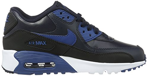 Nike Running Black Kid's Leather Shoes 90 Air Max pfpwZ7rq