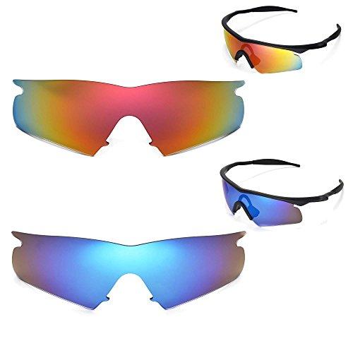 new-walleva-polarized-fire-red-ice-blue-lenses-for-oakley-m-frame-hybrid