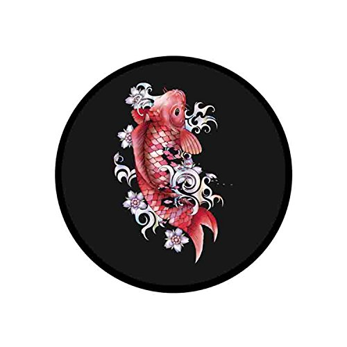 Expanding Stand and Grip for Phones or Tablet - Garnet Koi Fish