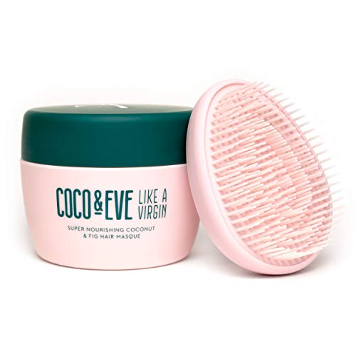 Coco & Eve Like a Virgin - Haarmaske Äußerst nährende Haarmaske mit Kokosnuss & Feige und tiefenwirksame Pflege für die Haare