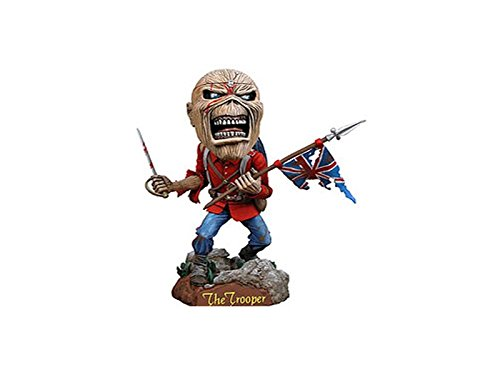 NECA Iron Maiden Eddie The Trooper Head Knocker Iron Maiden Eddie