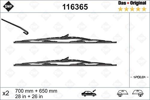SWF 116365 para limpiaparabrisas limpiaparabrisas, Limpiaparabrisas ...